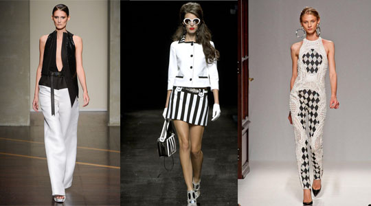 black and white trends