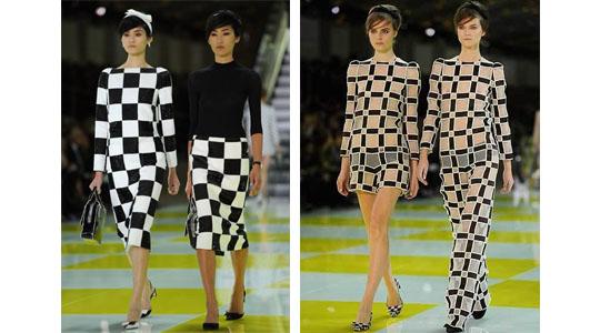 checkered patterns