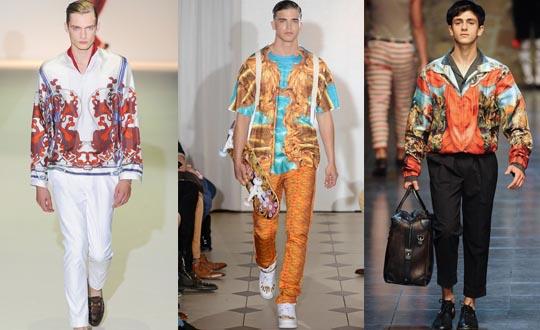 pattern mens trend