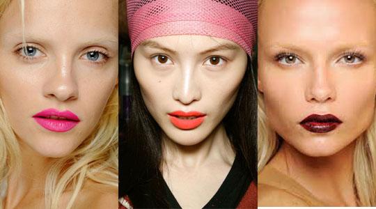 lips makeup ss2013
