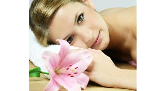 skin care on spring