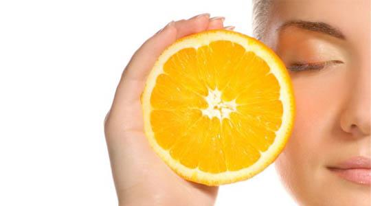 vitamin c on skin