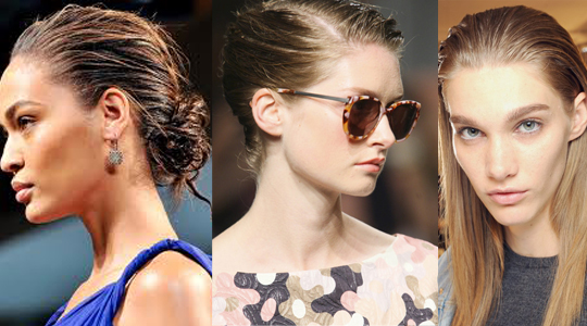 wet look on spring 2013
