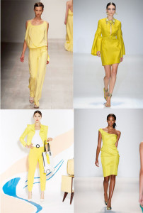 yellow color trend