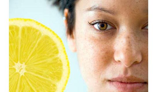 lemon acne fight