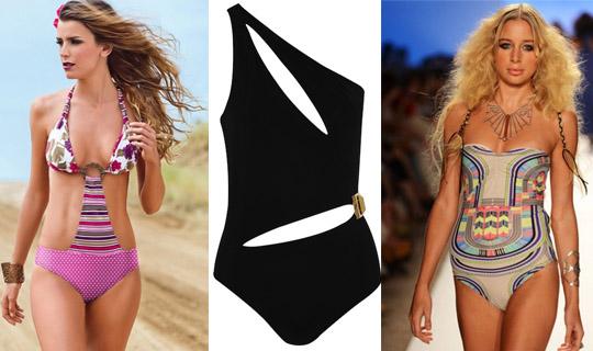 one piece swimsuit 2013