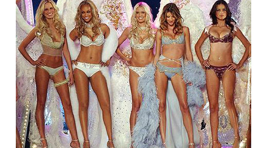 victoria secret models diet