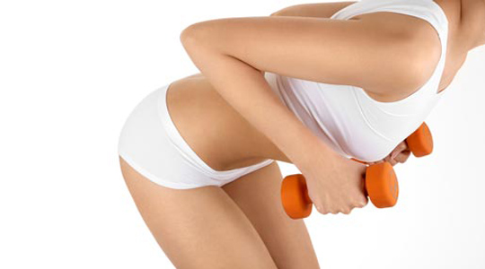 exercises tone breasts