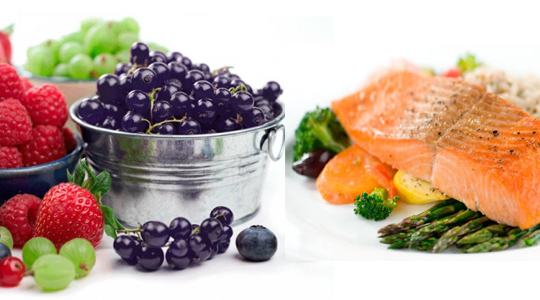 food with antioxidants