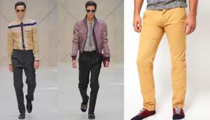 colored trusers