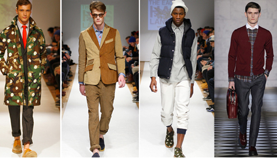 2014 Men's Fashion Trends Men fashion trends Fall Winter